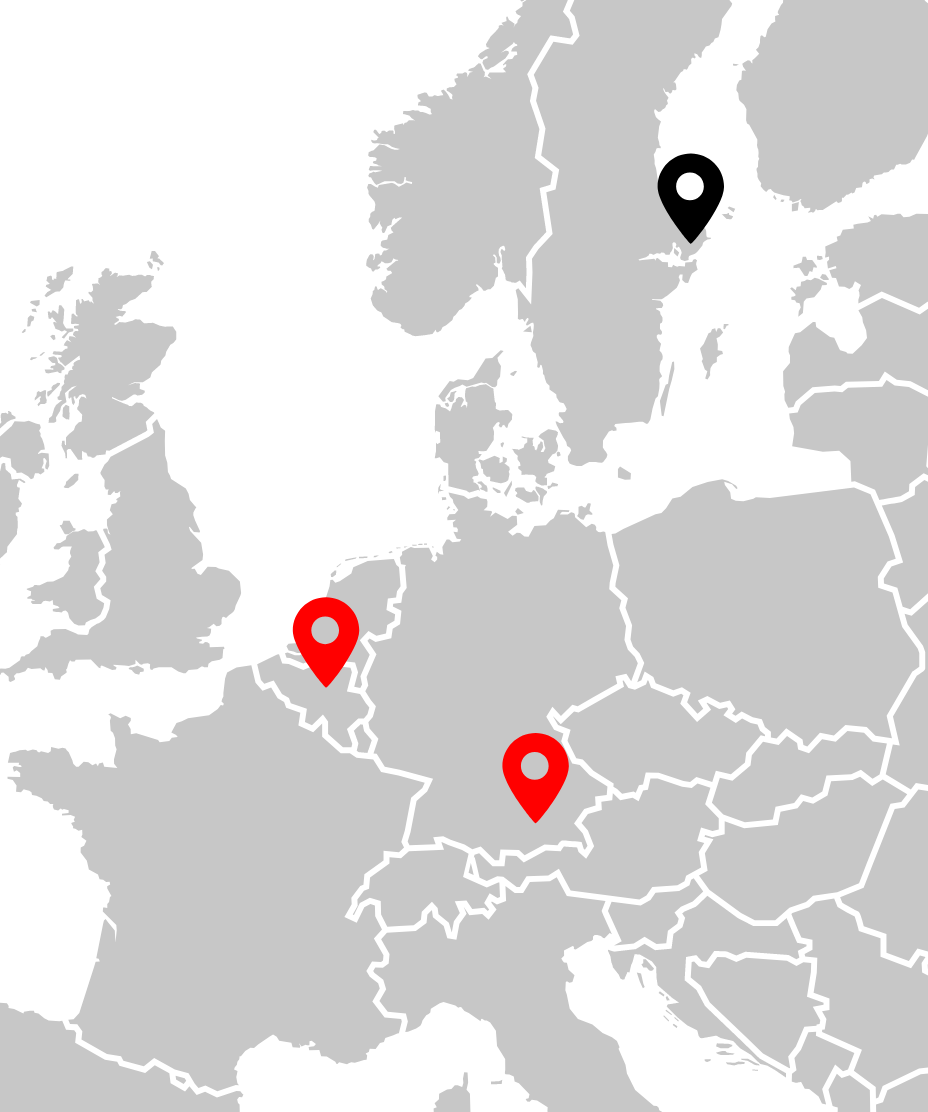 AEC | Automotive Solution Provider | Munich | München | Company | Our Locations | Map